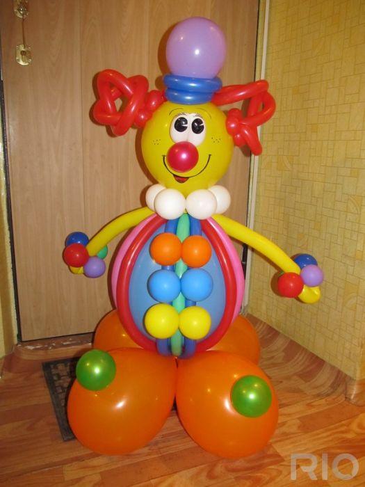 Поделки для мальчика из шаров 50